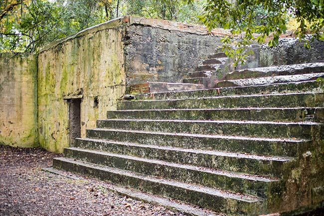 Fort Fremont Stairs, Frogmore