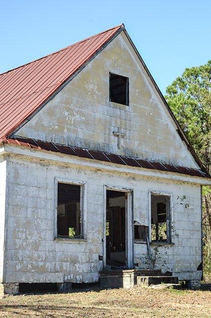 Stono Baptist Church Detail