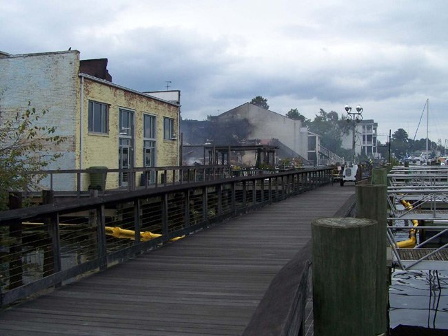 Front Street Fire