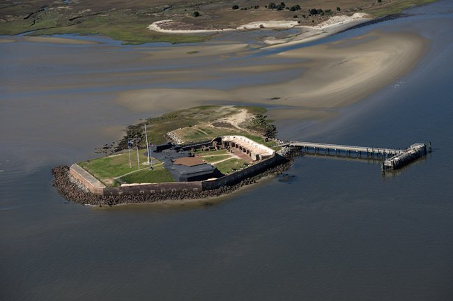 Ft. Sumter Aerial