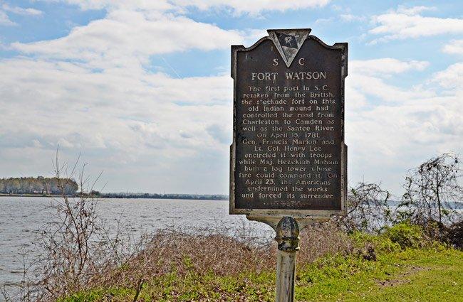 Ft. Watson Historic Marker