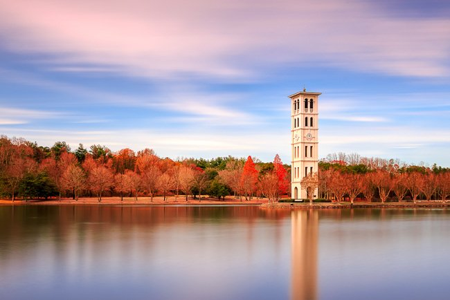 Furman University Tower Greenville