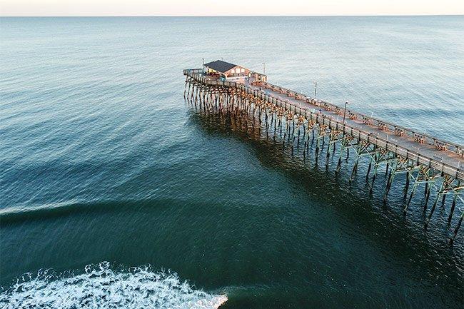 Garden City Pier Aerial