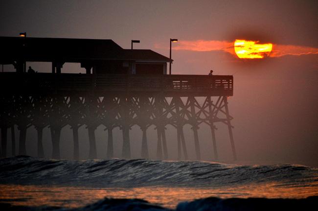 Garden City Beach Pier