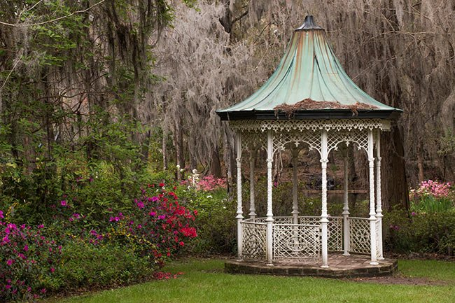 Gazebo at Magnolia Gardens
