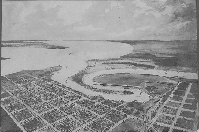 Georgetown Aerial View