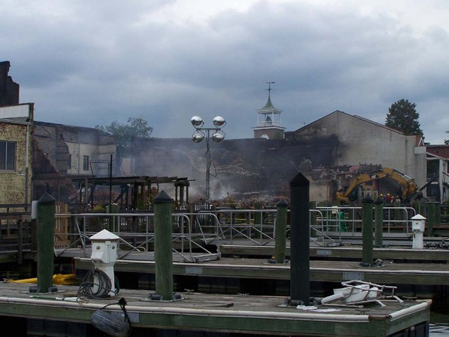 Georgetown Front Street Fire