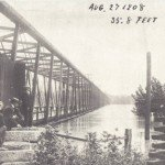 Gervais Bridge and Flooding Congaree (1908)