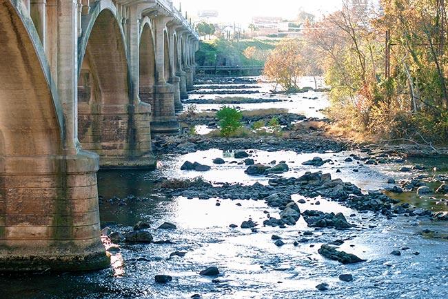 Gervais Bridge Columbia Arches