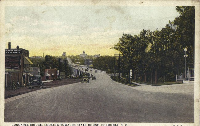Gervais Street Bridge Postcard