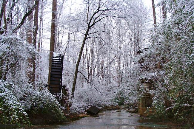 Gilreath's Mill Waterwheel