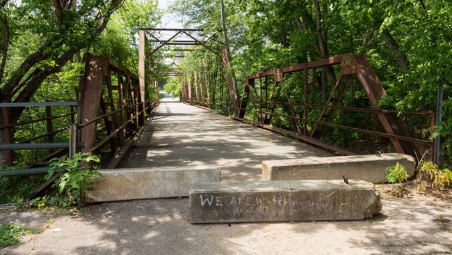 Glendale Mill Bridge Spartanburg