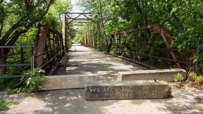 Glendale Mill Bridge Spartanburg