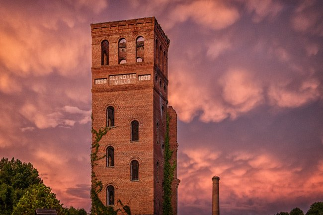 Glendale Mill Sunset