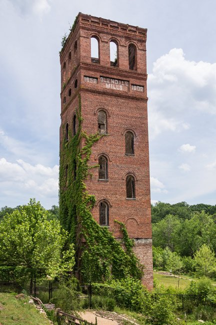 Glendale Mill Tower Spartanburg County