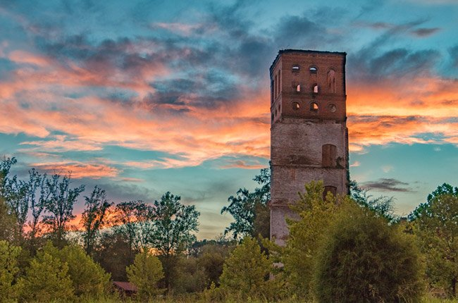 Glendale Mill Tower Spartanburg