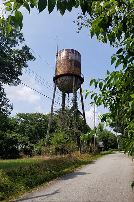 Glendale Mill Water Tower