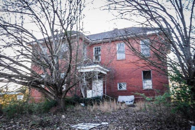 Gluck Mill School Back