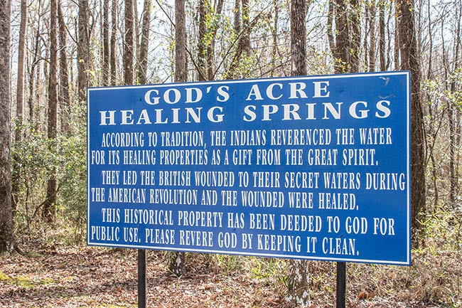 God's Acre Healing Springs
