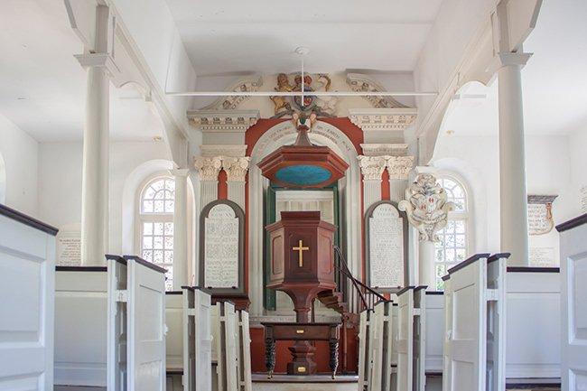 St. James Goose Creek Church Interior