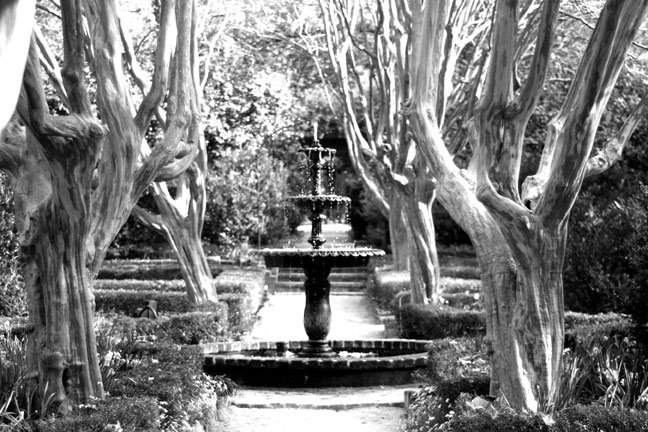 Governors Mansion Fountain