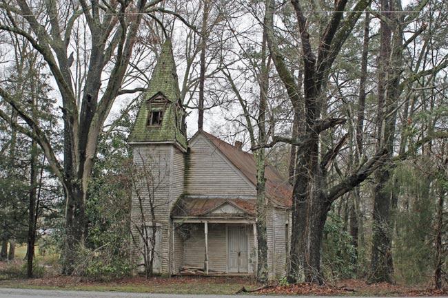 Graham Methodist Church Pomaria