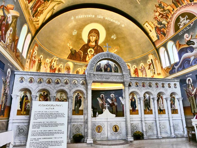 Greek Orthodox Columbia Interior