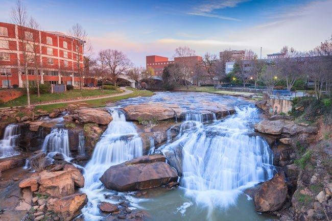 Greenville SC Reedy River