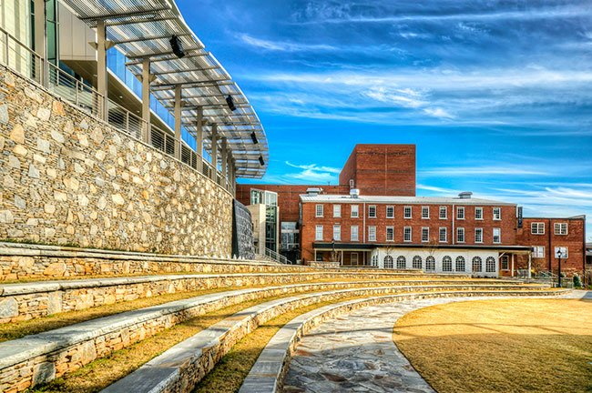 Greenville SC Peace Center Amphitheatre