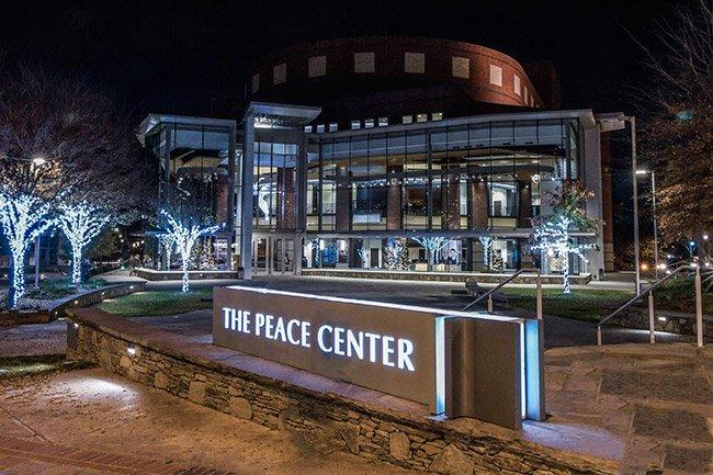 Peace Center Greenville South Carolina