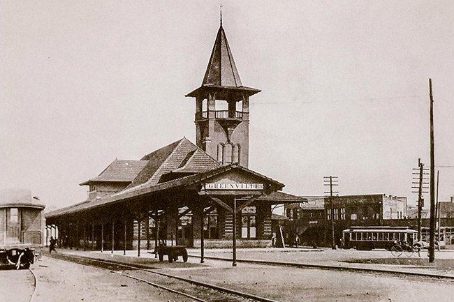 Greenville SC Depot 1905-1988