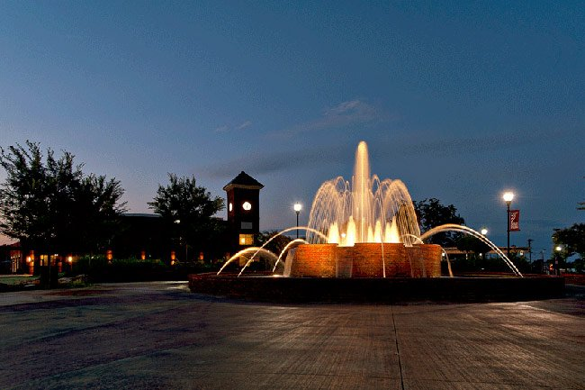 Greer City Hall Fountain