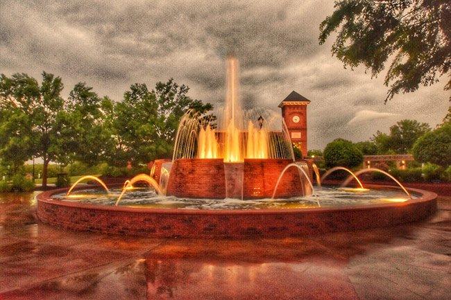 Greer City Fountain