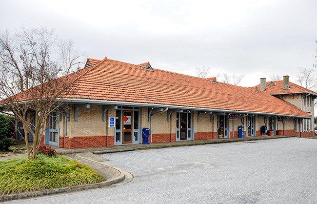 Greer Depot as Strip Mall