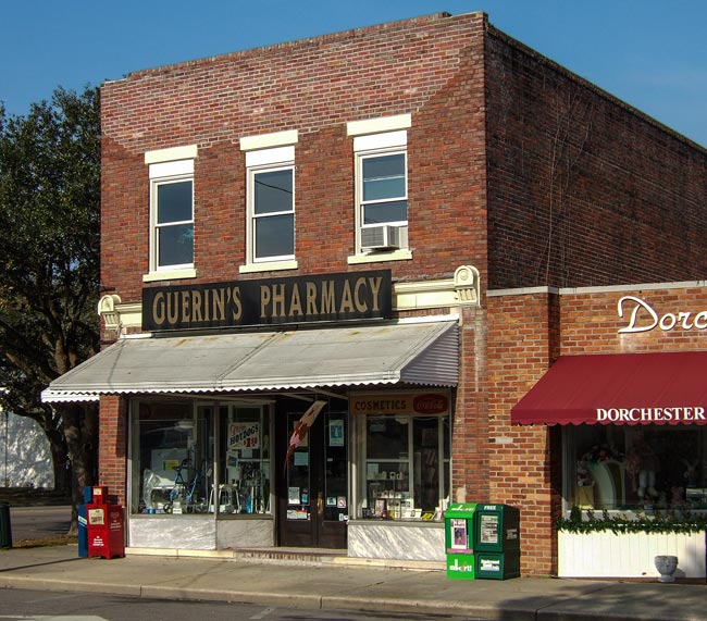 Guerin s pharmacy summerville south carolina sc for What to do in summerville sc