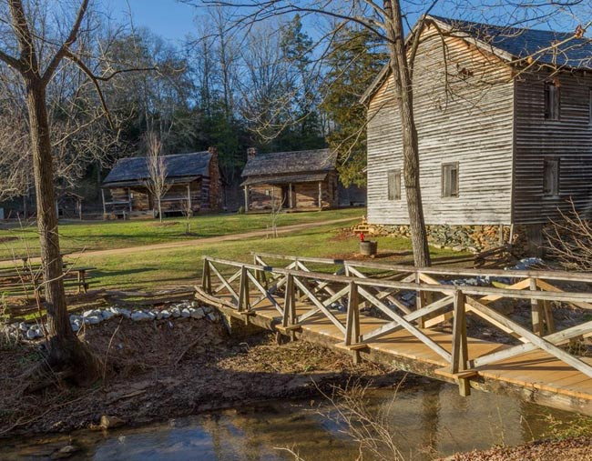 Hagood Mill Cabins
