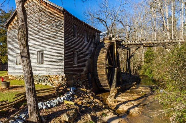 Hagood Mill in South Carolina