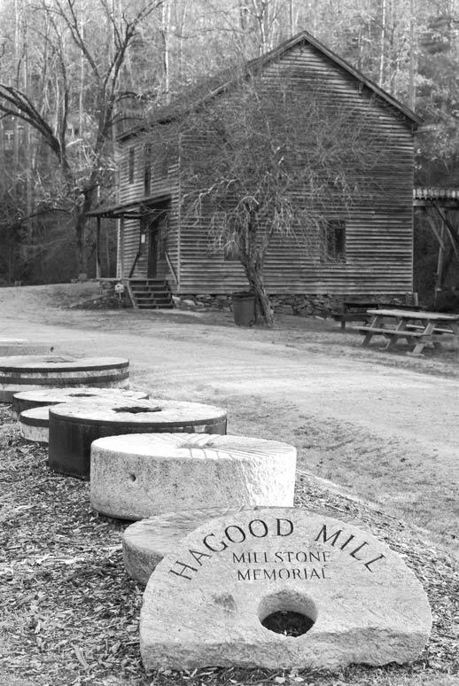 Hagood Mill Stones