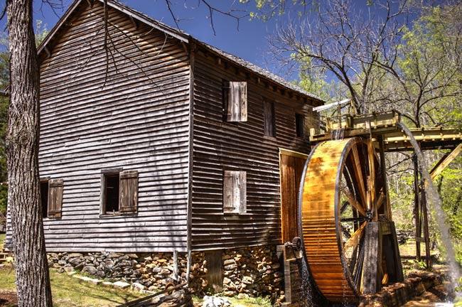 Hagood Mill Wheel