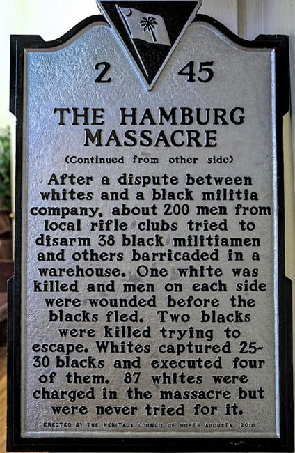 Hamburg Massacre Back