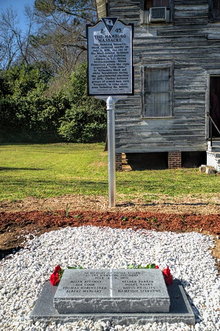 Hamburg Massacre Memorial Carrsville