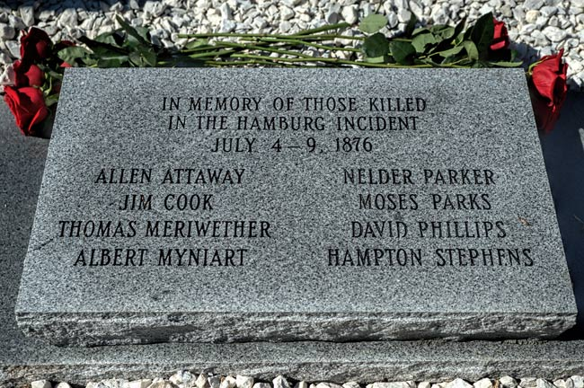 Hamburg Massacre Memorial