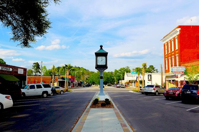 Hampton Clock Downtown