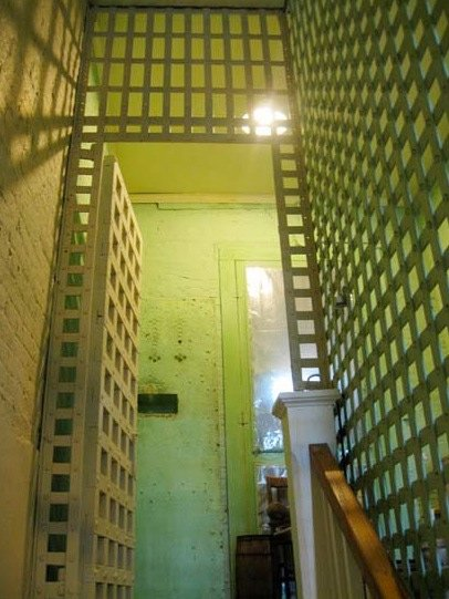 Hampton County Jail Stairwell