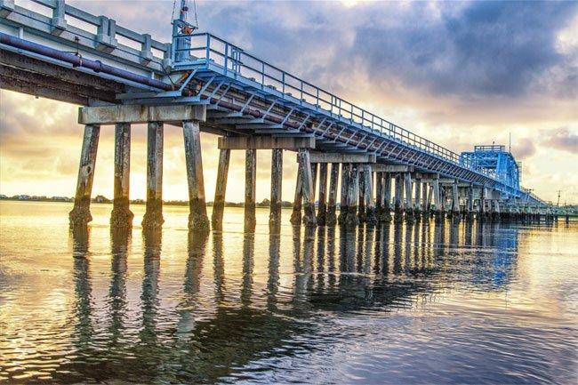 Harbor River Swing Bridge