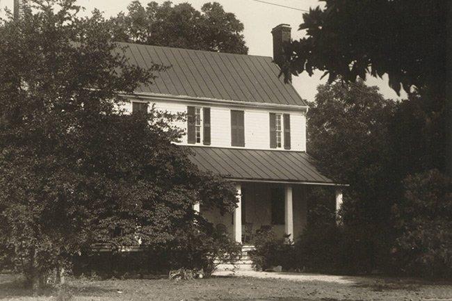 Hartzell House Historic Photo