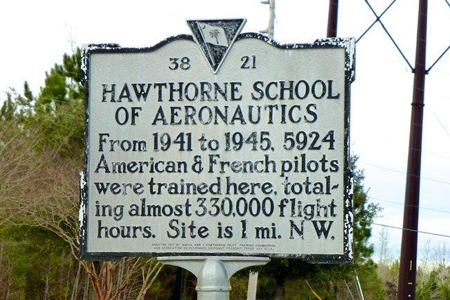 Hawthorne Marker