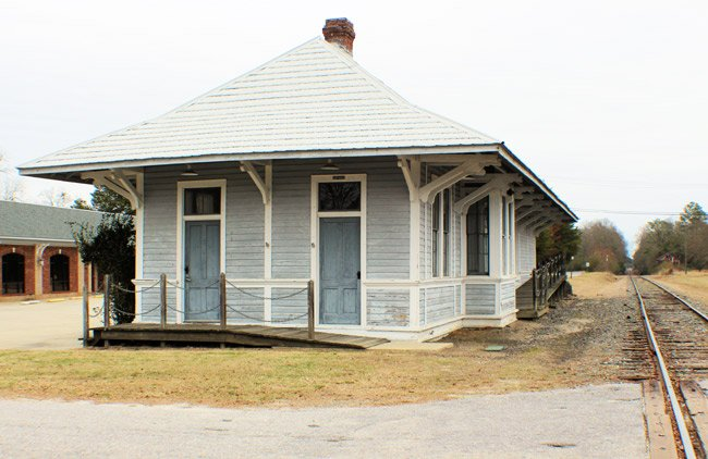 Heath Springs Train Depot