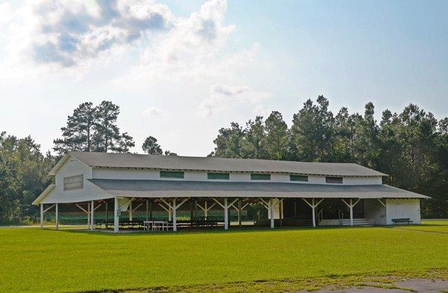 Hemingway Campground Tabernacle
