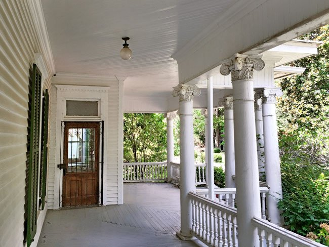 Hendrix House Porch